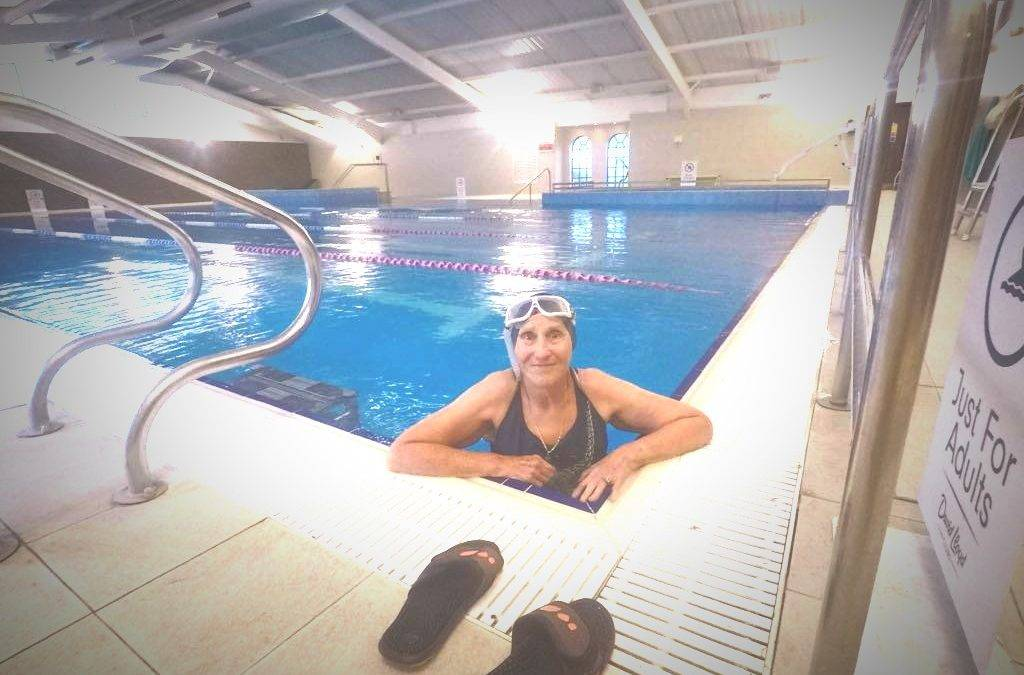 Never too late to crawl – Steven Shaw's 80-year-old mum on the benefits of swimming